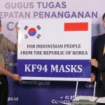 Pemerintah Korea Kembali Serahkan Bantuan 500 Ribu Masker Melalui Gugus Tugas Nasional - Berita Terkini