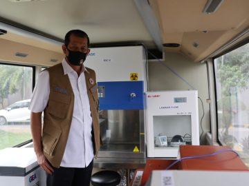 Bantuan Satu Mobil Laboratorium PCR untuk Penanganan COVID-19 di Sulawesi Utara - Berita Terkini