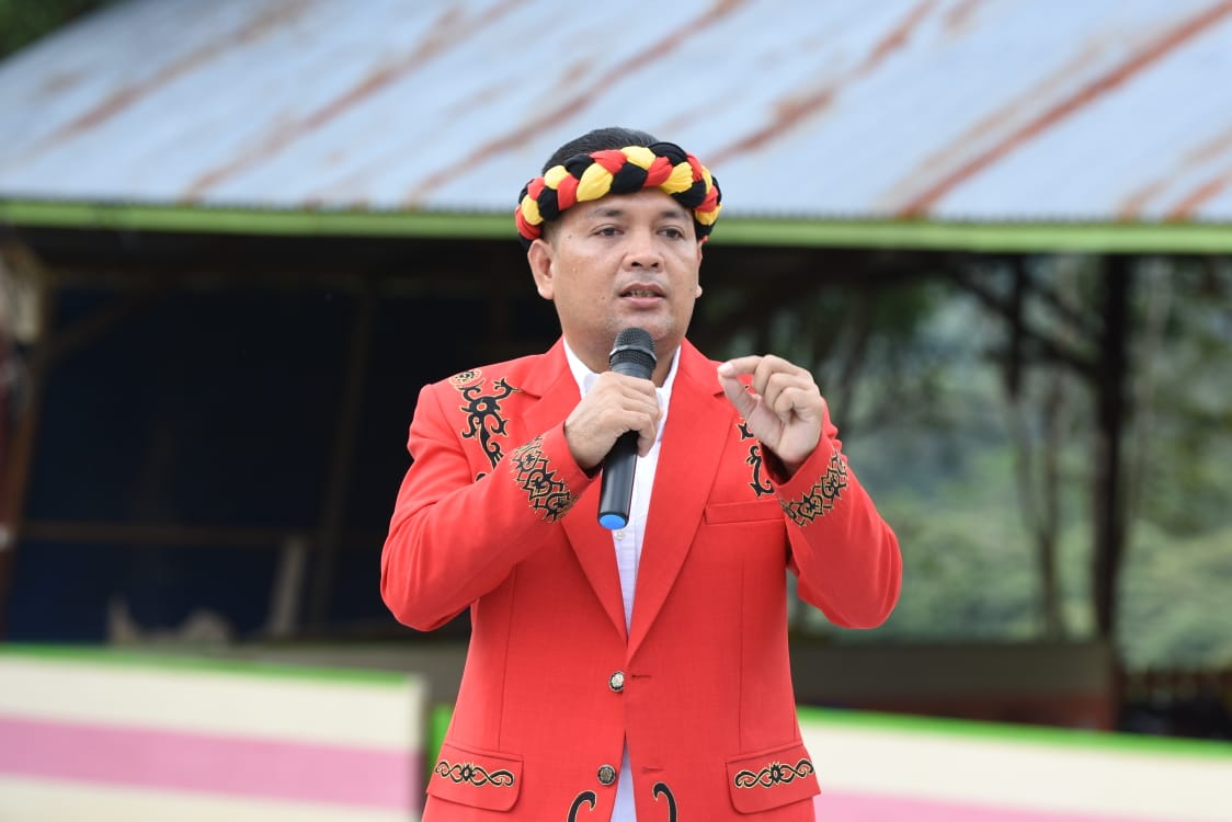 Sekjen DAD Kabupaten Sanggau Tegaskan Poto Banner Ajakan Pergi Gawai Dayak adalah Hoax