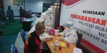 Rapid Test Tahanan Kejari Sanggau, Begini Hasilnya