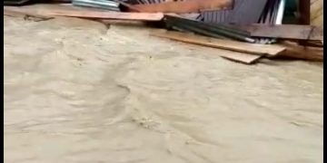 Banjir Bandang Terjang Dua Dusun di Desa Nekan, Entikong