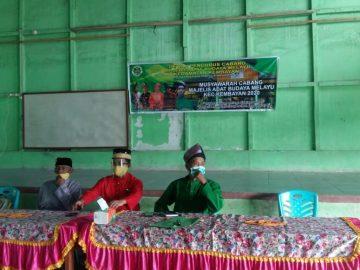 Ketua DPD MABM Sanggau, Hadiri Muscab DPC Kembayan, Ini Pesannya