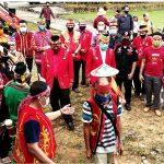 DAD Kab. Sanggau Gelar Ritual Adat Nosu Minu Podi Dan Mpokant Podagi