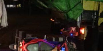 Tabrak Truck Parkir di Kota Sanggau, Pria Ini Luka Parah