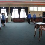 Wabup Sanggau Pimpin Pengambilan Sumpah/Janji 94 Pejabat Fungsional di Lingkungan Pemkab Sanggau
