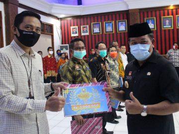 Bank BRI Cabang Sanggau Menjuarai Lomba Vlog Tentang Penerapan PHB di Kabupaten Sanggau
