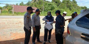 Peninjauan Lapangan Pembangunan SPBU Mini PT.Petro Global Niaga di Desa Pedalaman, Kec.Tayan Hilir