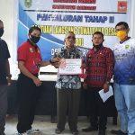 Plt. Kadis DPM Pemdes hadiri Penyaluran Bantuan Langsung Tunai Dana Desa (BLT DD) Tahap 2 Desa Pandu Raya Kecamatan Parindu