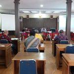 Rakor Tim Pembina dan Tim Sekretariat Program Desa Fokus Kabupaten Sanggau Tahun 2020