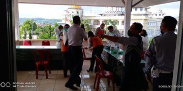 Sejumlah Juru Parkir di Sanggau Rapid Test, 2 Orang Reaktif