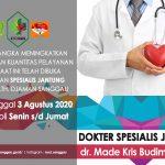 Telah Tersedia Dokter Spesialis Jantung di RSUD M.Th.Djaman Kabupaten Sanggau