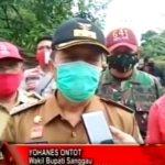 Wakil Bupati Sanggau Tinjau Lokasi Banjir Bandang di Desa Nekan