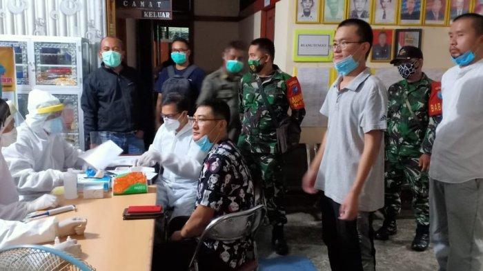 Razia Pekat di Tayan Hilir, Tim Gabungan Amankan 63 Orang Termasuk Tiga WNA Asal Tiongkok