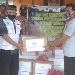 Baznas Sanggau Salurkan Bantuan untuk Koban Banjir Bandang di Desa Nekan