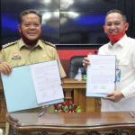 Pemkab Sanggau Jalin MoU Bersama BPJS Ketenagakerjaan Cabang Pontianak