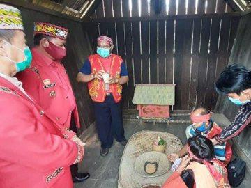Pesta Gawai Ditiadakan, DAD Sanggau Gelar Ritual Adat Nosu Minu Podi dan Mpokant Podagi