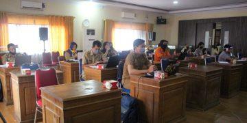 Dinas Kominfo Gelar Rapat Teknis Pengelola Pengaduan SP4N Lapor Daerah Kabupaten Sanggau