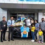 Penyerahan Grand Prize Simpedes Semester II Tahun 2019 BRI Cabang Sanggau