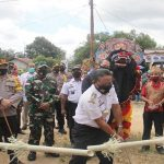 Kapolres Sanggau Hadiri Launching Kampung Mandiri Tangguh Nusantara di Desa Suka Mulya Gemilang
