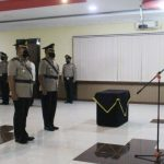 Kapolres Sanggau Pimpin Sertijab Kabag Ops dan Kapolsek Entikong