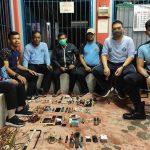 BREAKING NEWS - Kamar Warga Binaan Rutan Sanggau Digeledah, 9 Handphone Hingga 4 Sajam Disita