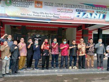 Usai Tinjau Kondisi Ruas Jalan Provinsi, Komisi IV DPRD Sanggau Audiensi Bersama Bupati