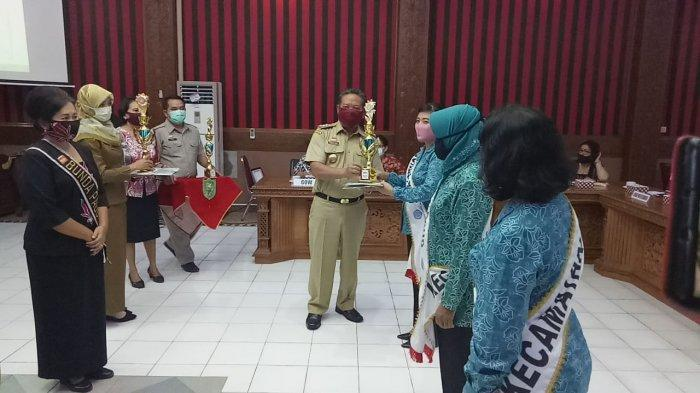 Bupati Paolus Hadi Apresiasi Lomba Bunda PAUD dan Gugus Tugas PAUD Tingkat Kabupaten Sanggau