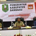 Bupati Sanggau Pimpin Rapat Koordinasi Terkait Penyaluran BLT DD
