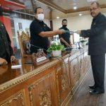 DPRD Sanggau Gelar Rapat Paripurna dalam Rangka Penetapan Perubahan Tatib
