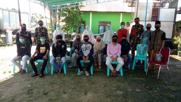 PCNU Sanggau Gandeng Dinkes Rapid Test Santri yang Akan Kembali ke Ponpes di Luar Kalbar