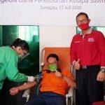 PMI Sanggau Gelar Donor Darah Sukarela di Disbunak Sanggau