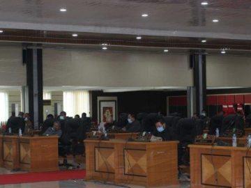 Fraksi-Fraksi DPRD Sanggau Sampaikan Pandangan Umum Atas Raperda APBD Tahun 2019