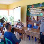 Kapolsek Sanggau Ledo Berikan Penyuluhan Hukum di Acara TMMD Regtas ke-108