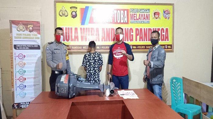 Polsek Toba Ungkap Kasus Pencurian Mesin Speed Boat di Sanggau