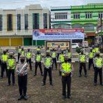 Gelar Pasukan Ops Patuh Kapuas 2020, Polres Sanggau Pedomani Protokol Kesehatan