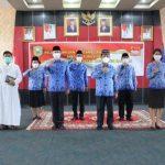 Wabup Sanggau Pimpin Pengambilan Sumpah Janji 94 Pejabat Fungsional