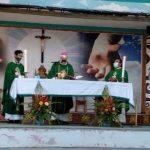 Memasuki PHB, Gereja Katedral Hati Kudus Yesus Sanggau Mulai Gelar Misa Minggu (5/7/2020)