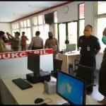 Tinjau LPTSA di Perbatasan RI-Malaysia, Wabup Akui Pelayanan Terkendala Internet