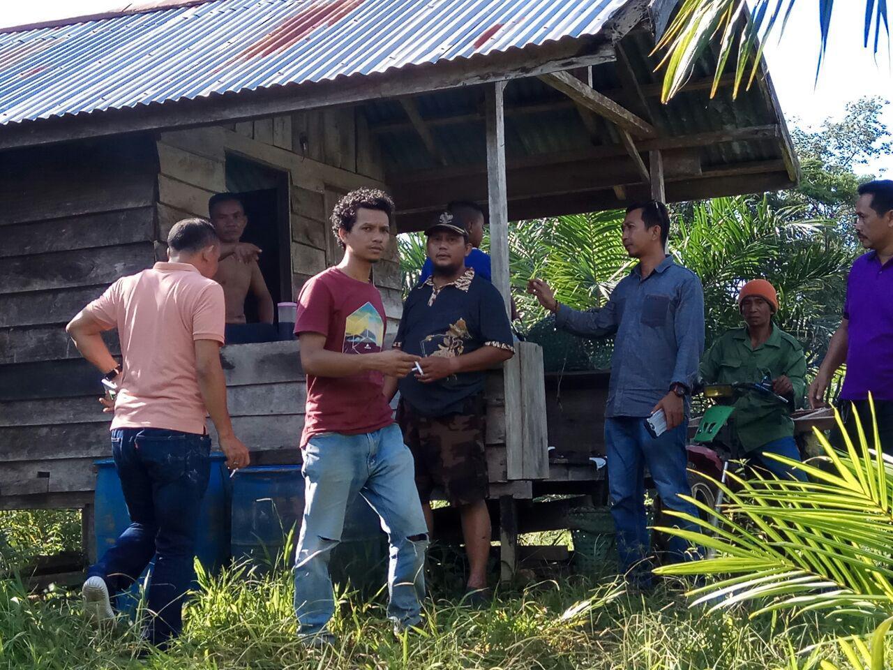Bappeda Melakukan Survey Pemetaan Jalan Dan Jembatan Di Desa Bungkang Kecamatan Sekayam