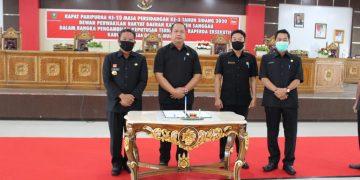 DPRD Setujui 4 Reperda usulan Eksekutif