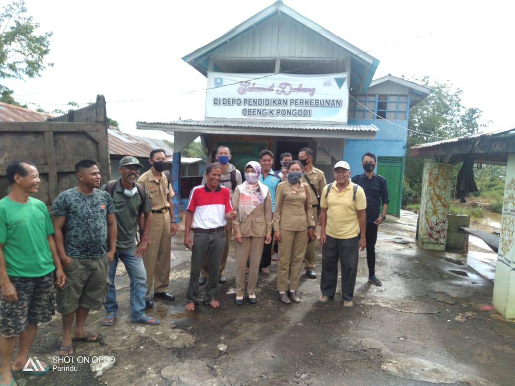 Dinas Bunnak Melaksanakan Pembinaan Kelembagaan di UPPB