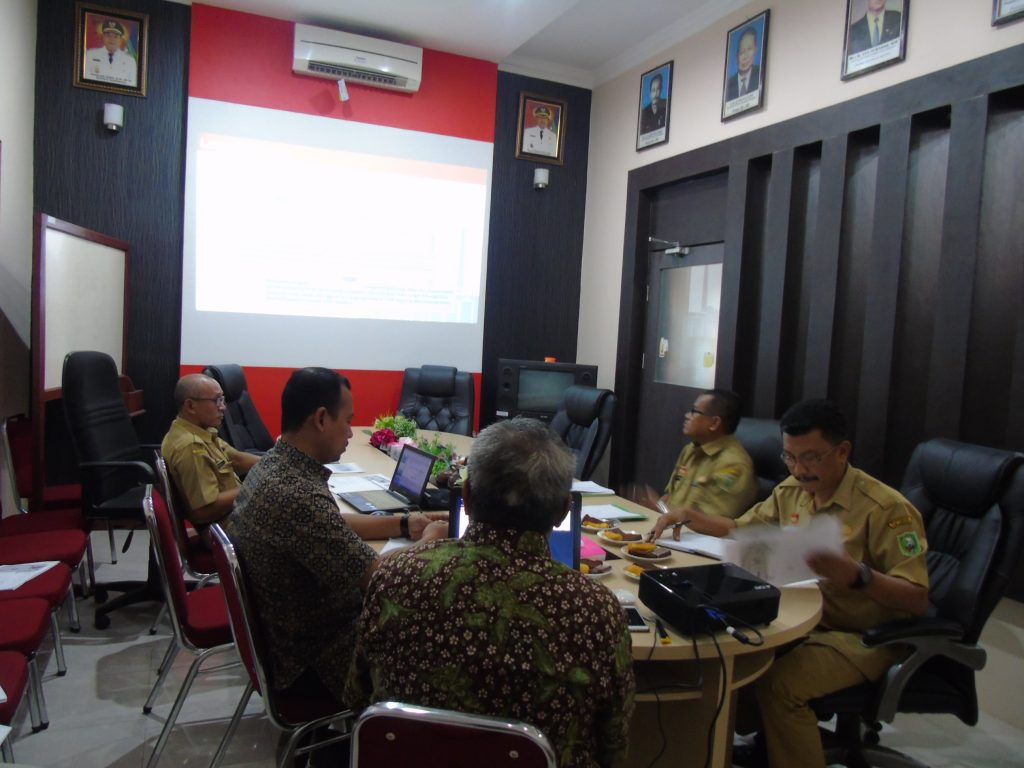 FGD Kerjasama Penyusunan Draft Laporan Awal Rencana Induk Pengembangan Pertanian Rakyat di Kecamatan Meliau dengan PT. Sinergi Visi Utama