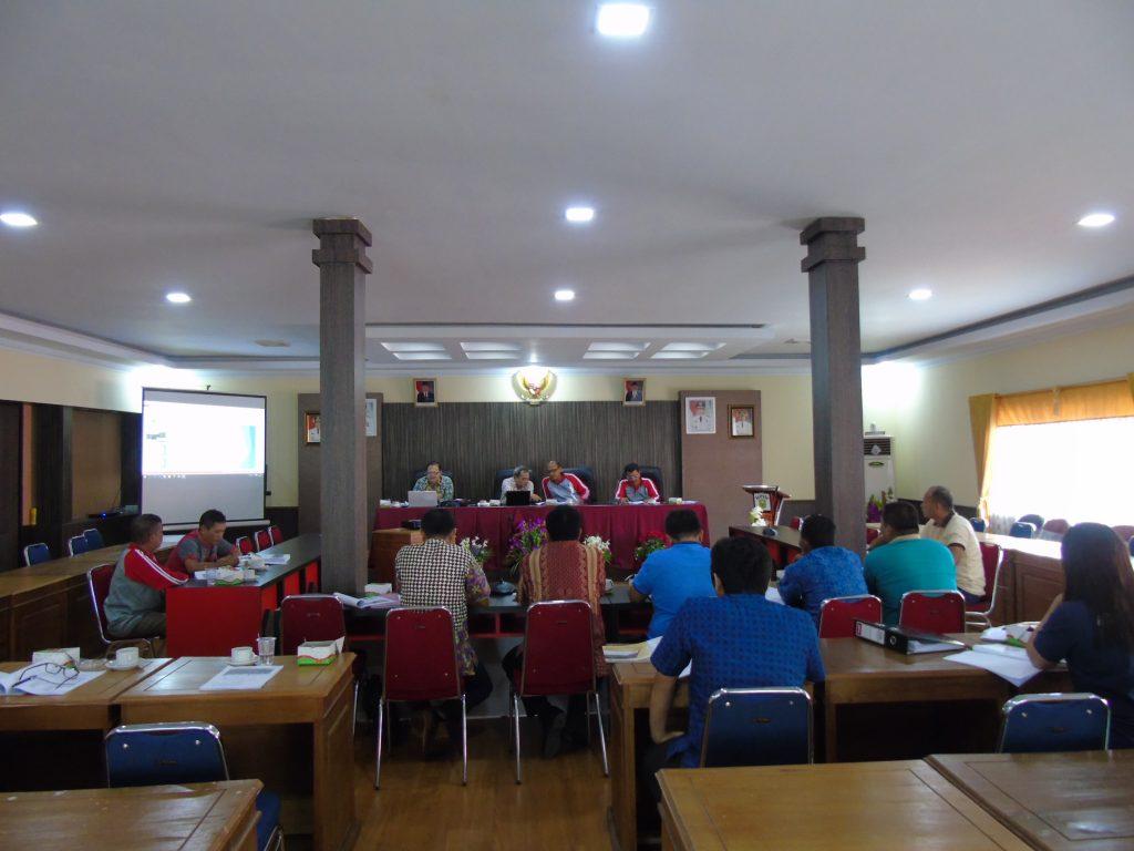 FGD Penyusunan Draf Laporan Akhir Rencana Induk Pengembangan Pertanian Rakyat Di Kecamatan Meliau