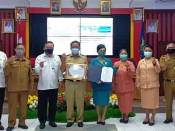 Pemkab Sanggau raih dua penghargaan dari BKKBN
