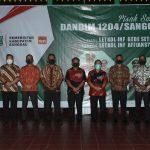 Pisah Sambut Dandim 1204/Sanggau, Bupati Sanggau Sampaikan Terimakasih TNI Ciptakan Masyarakat Kondusif