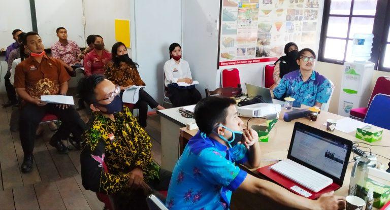 PPID Kab. Sanggau Lakukan Rapat Teknis Persiapan Monev Keterbukaan Informasi Publik Tahun 2020