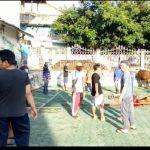 Panitia Qurban Masjid Agung Al - Mu'awwanah Sanggau, Bagikan 360 Paket Daging Untuk Kelurga Kurang Mampu