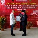 167 Narapidana di Rutan Sanggau Terima Remisi Umum HUT RI Ke-75