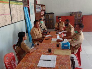 Pembinaan Desa Fokus Tahun 2020 di Desa Palem Jaya Kecamatan Parindu