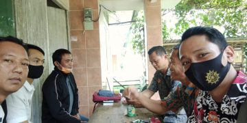 Pembinaan Terhadap Lembaga Ekonomi Masyarakat (LEM) Desa Bungkang Bersama Pengurus
